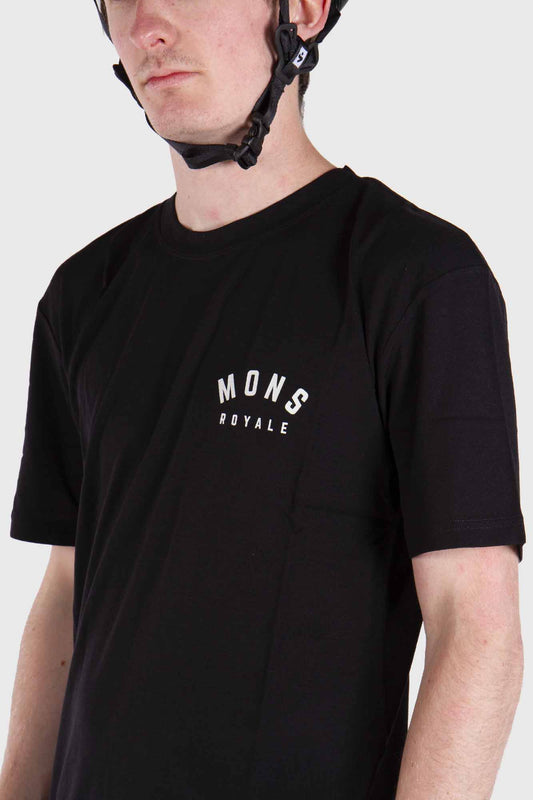 Mons Royale Mens Icon Tech Tee - Black