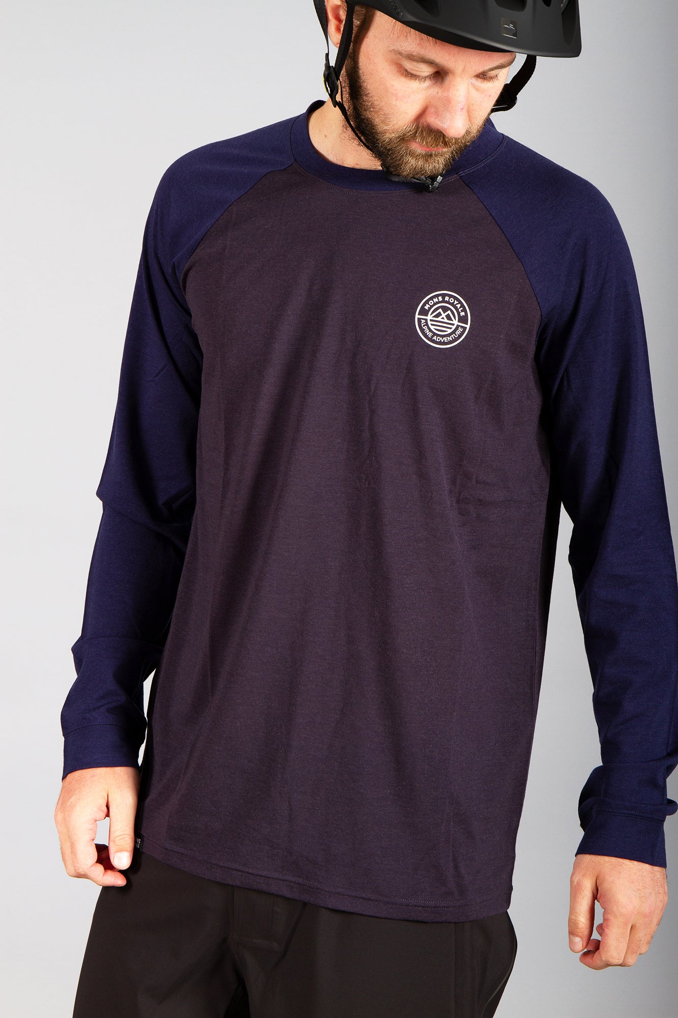 Mons Royale Icon LS Navy