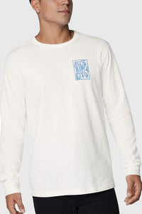 Dakine Ripstack Long Sleeve Tee - Off White