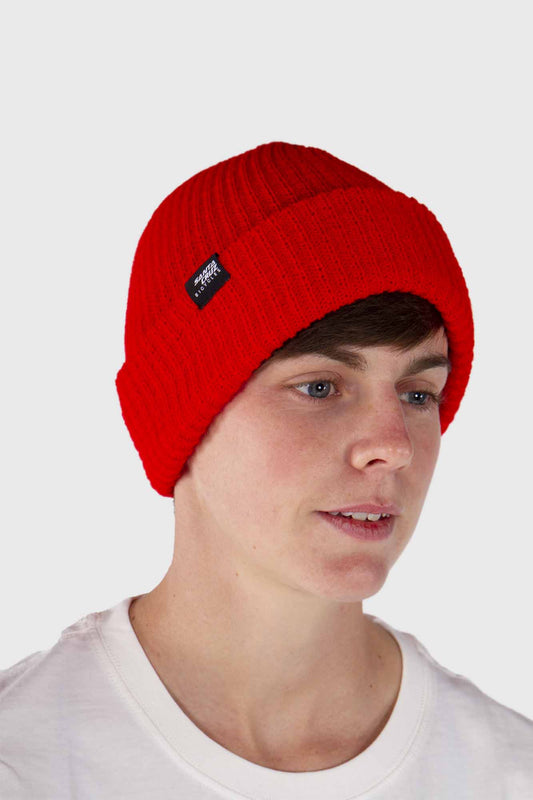 Santa Cruz Port Strike Beanie - Red