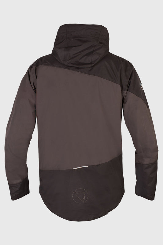 Endura Singletrack Waterproof Jacket Black Back