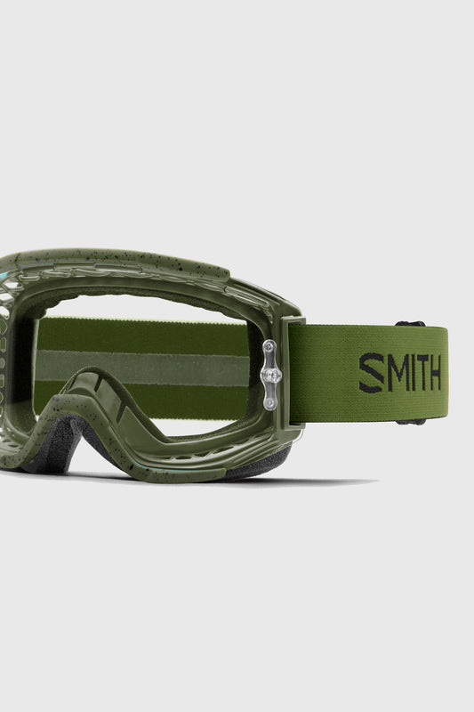 Smith Squad Goggles Moss with clear lens