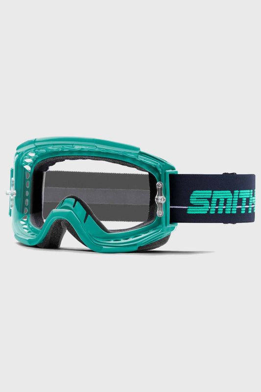 Smith Squad Goggle with Clear Lens - Jade and Indigo