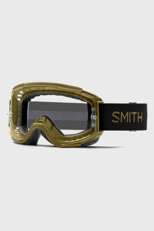 Smith Squad XL Goggle Clear Lens - Mystic Green