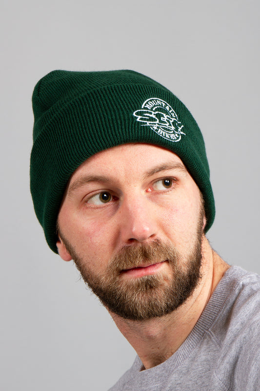 Stif Roundel beanie in bottle green