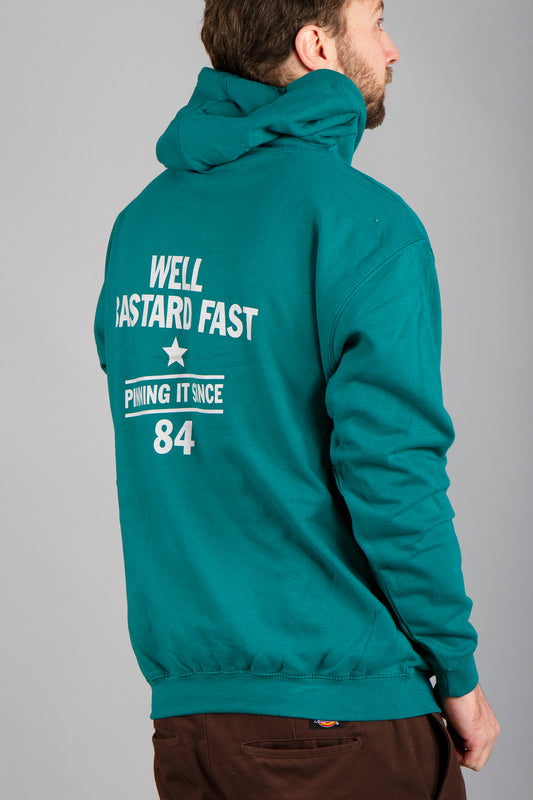 Stif Since 84 Pullover Hoody Teal