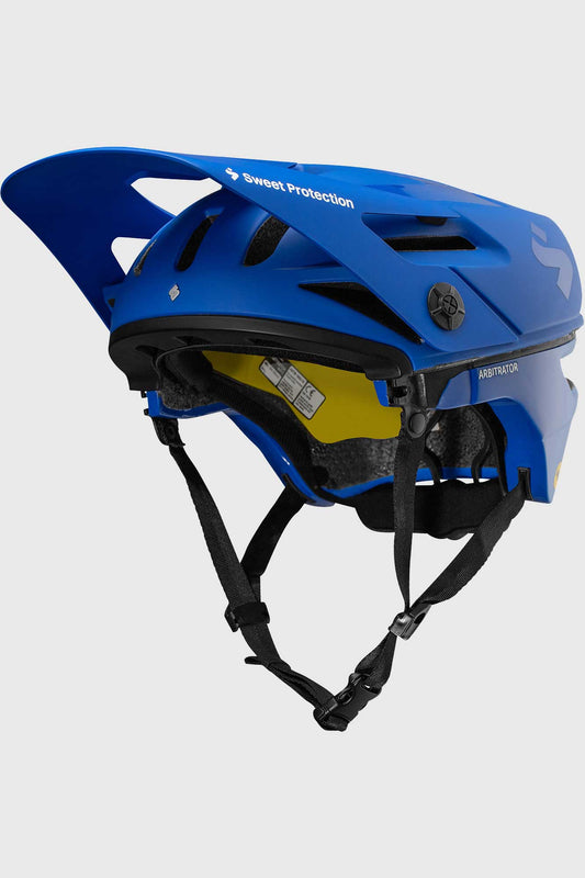 Sweet Protection Arbitrator Helmet 2020 - Race Blue/Natural Carbon