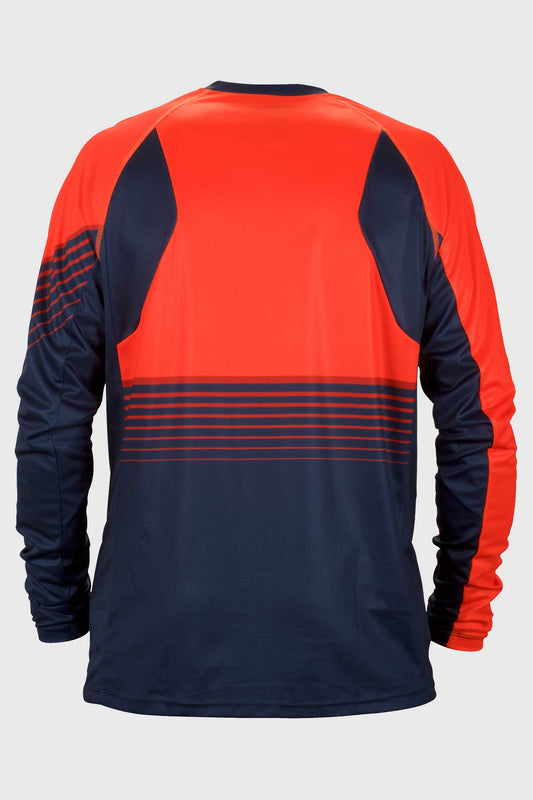 Sweet Protection Chuckanut Jersey Blue and Orange