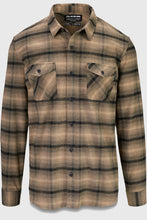 Load image into Gallery viewer, Dakine Underwood Flannel Shirt Barley