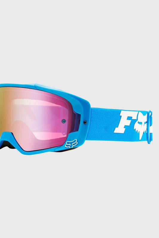 Fox Zebra Ltd Edition Vue Goggles Cyan