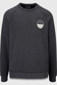 Dakine Weston Eco Fleece Crew - Heather Black
