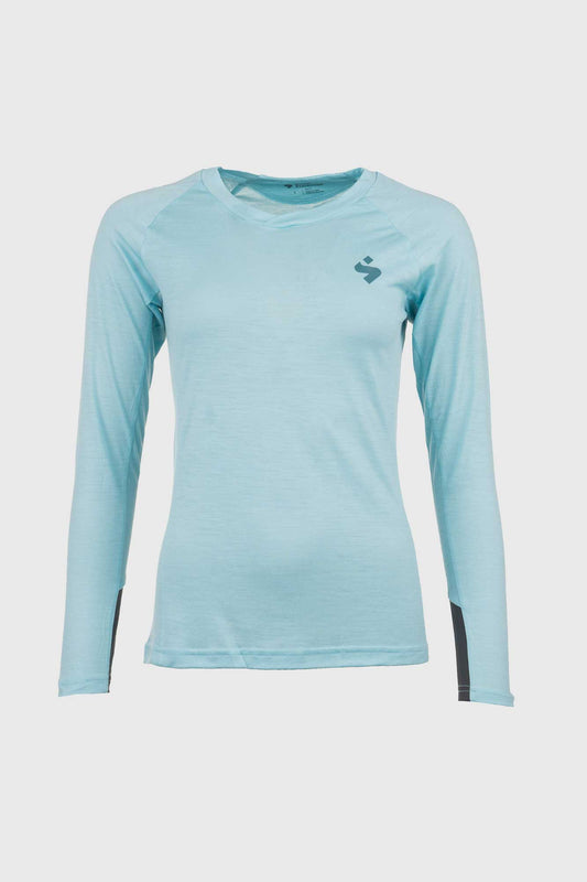 Womens Hunter Light Blue Merino Jersey
