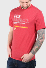Load image into Gallery viewer, Fox Analog Short Sleeve Tech Tee - Chili