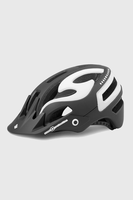 Sweet Protection Bushwhacker II Helmet - Matte Black Gloss White