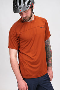 Dakine Charger SS Jersey Red Earth
