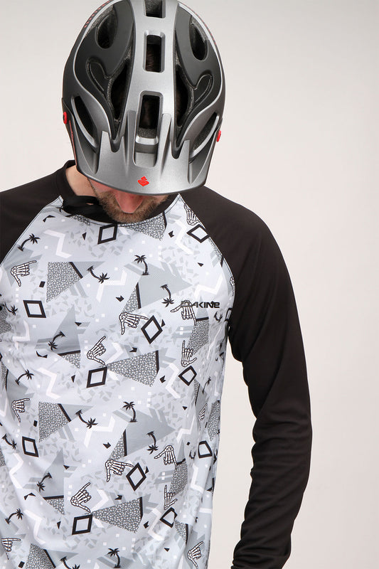 Dakine Dropout Long Sleeve Party palm