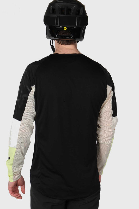 Fox Flexair Delta Long Sleeve HONR Jersey - Black