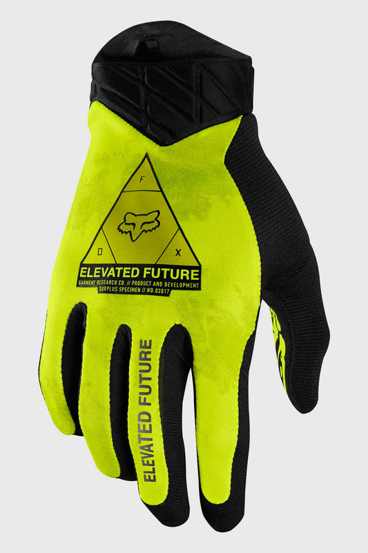 Fox Flexair Elevated Glove - Day Glo Yellow