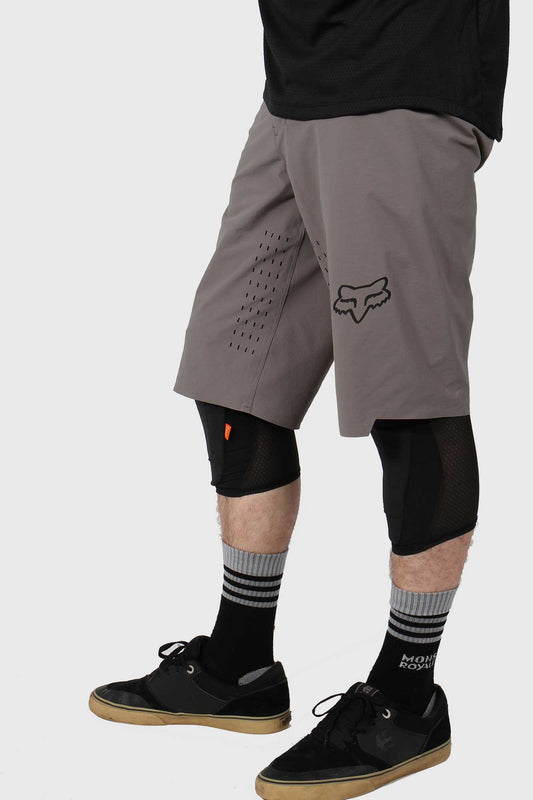 Fox Flexair Short No Liner - Pewter