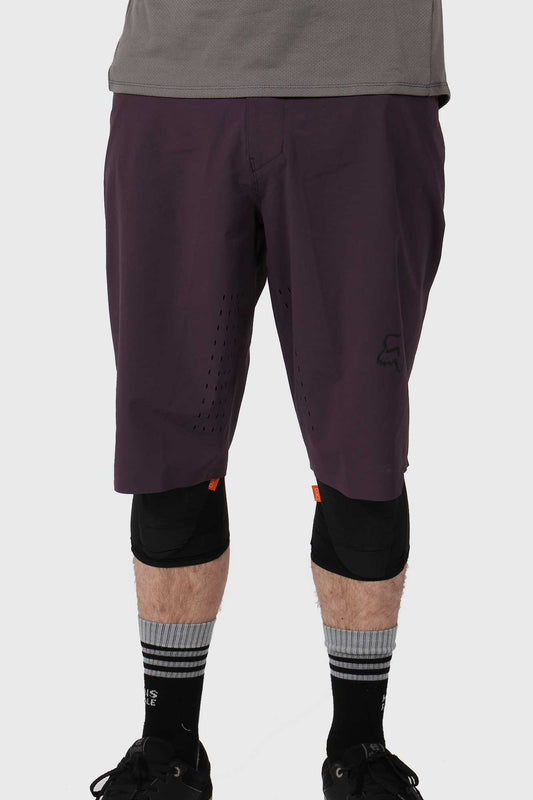 Fox Flexair Short No Liner - Dark Purple