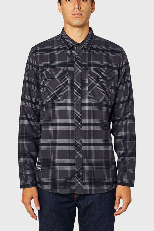 Fox Fusion Tech Flannel - Black Vintage