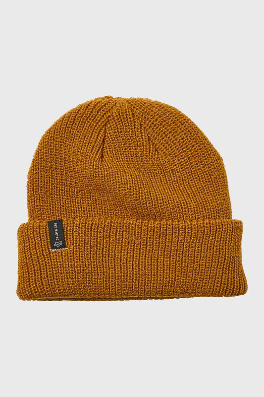 Fox Machinist Beanie - Bronze