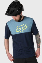 Load image into Gallery viewer, Fox Ranger Dri-Release Short Sleeve Jersey - Navy