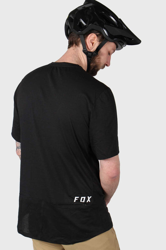 Fox Ranger PowerDry Short Sleeve Jersey - Black