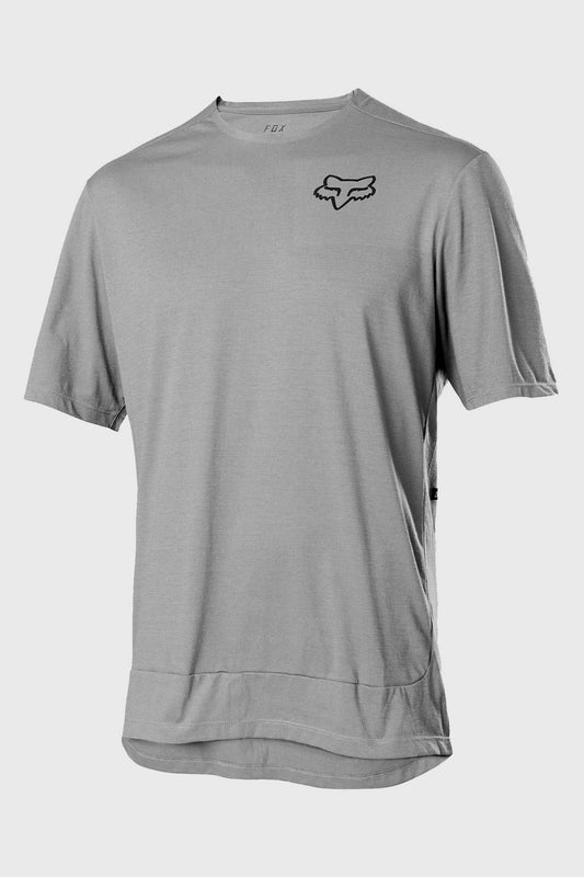 Fox Ranger PowerDry Short Sleeve Jersey - Pewter