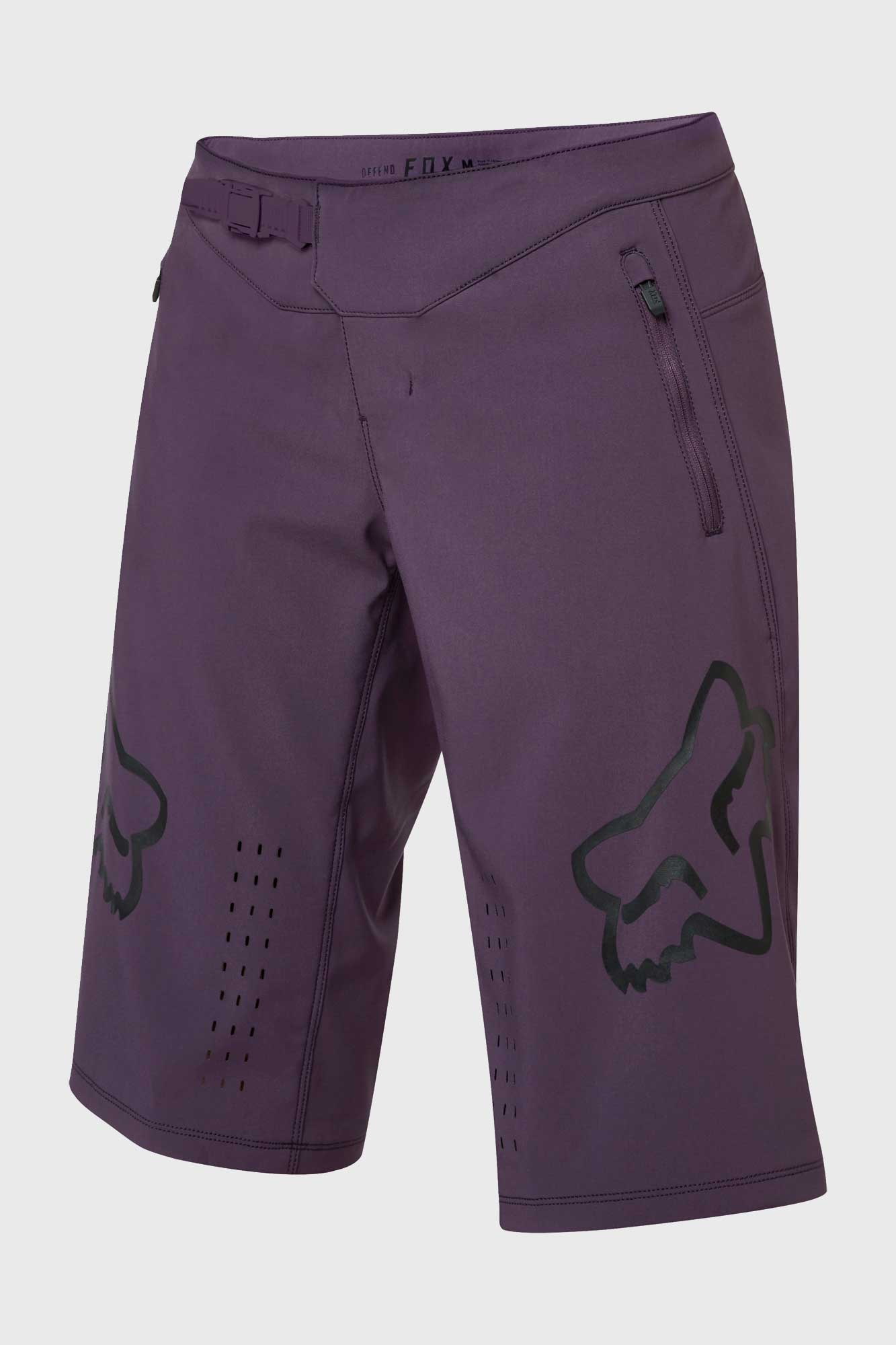Fox Defend Womens Short - Dark Purple