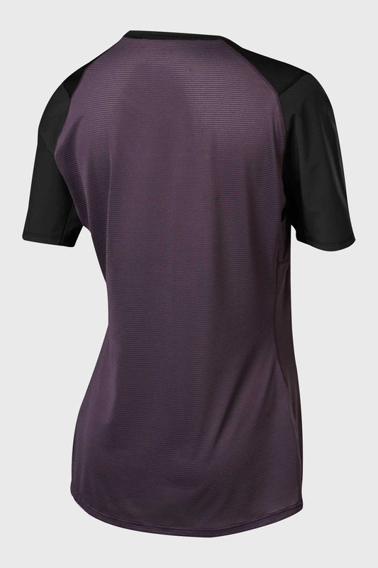 Fox Flexair Short Sleeve Womens Jersey - Dark Purple