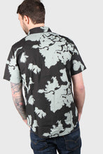 Load image into Gallery viewer, Fox Greenhorn Woven Short Sleeve Shirt - Black Vintage