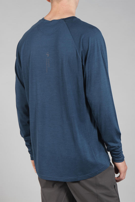 Sweet Protection Hunter Long Sleeve Merino Jersey Ocean Blue