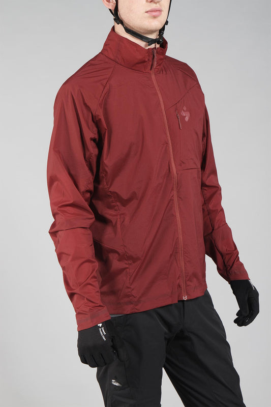 Sweet Protection Hunter Wind Jacket Deep Earth Red