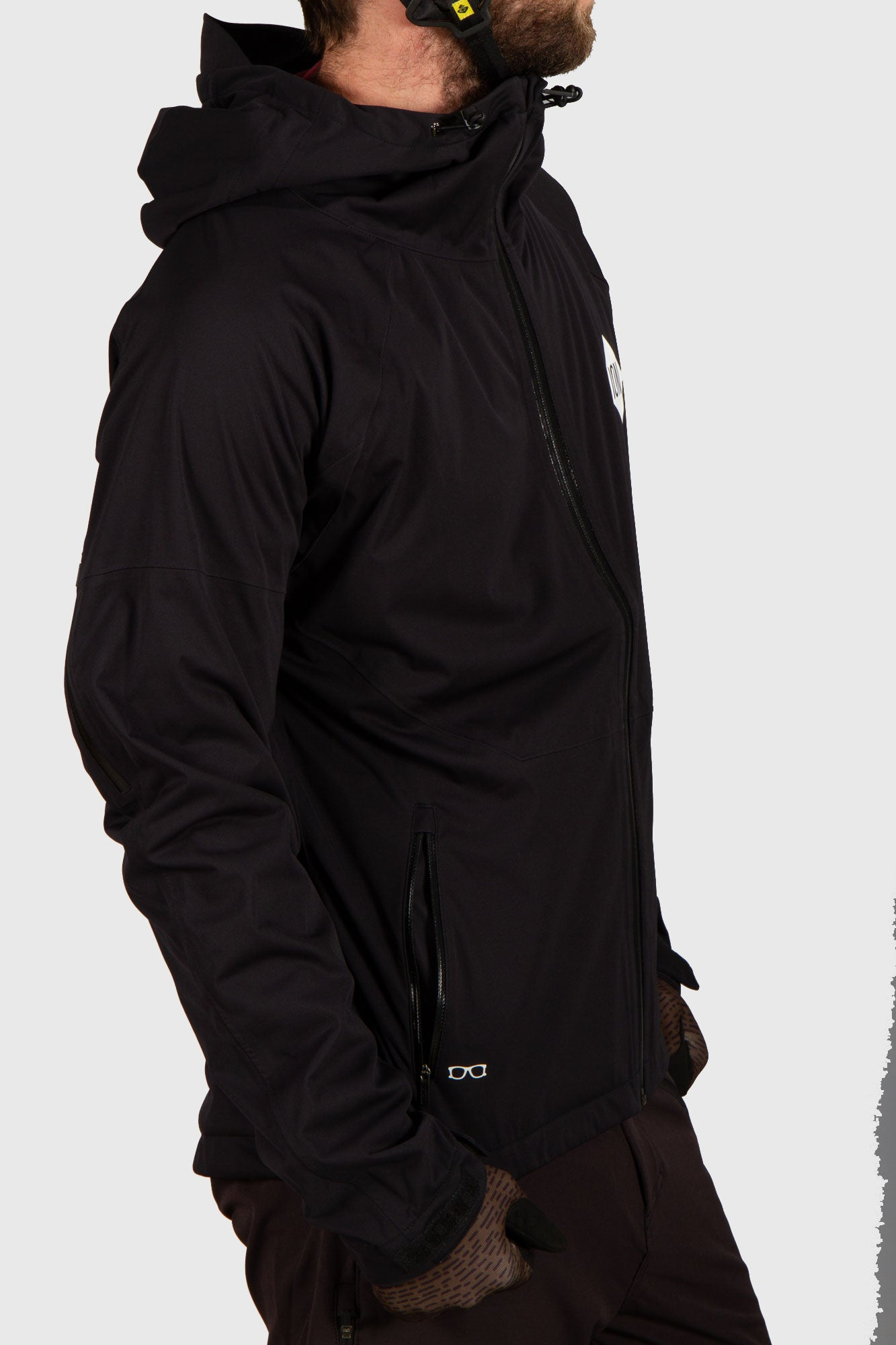 Ion Products Shelter jacket 3 Layer Waterproof Black – Stif