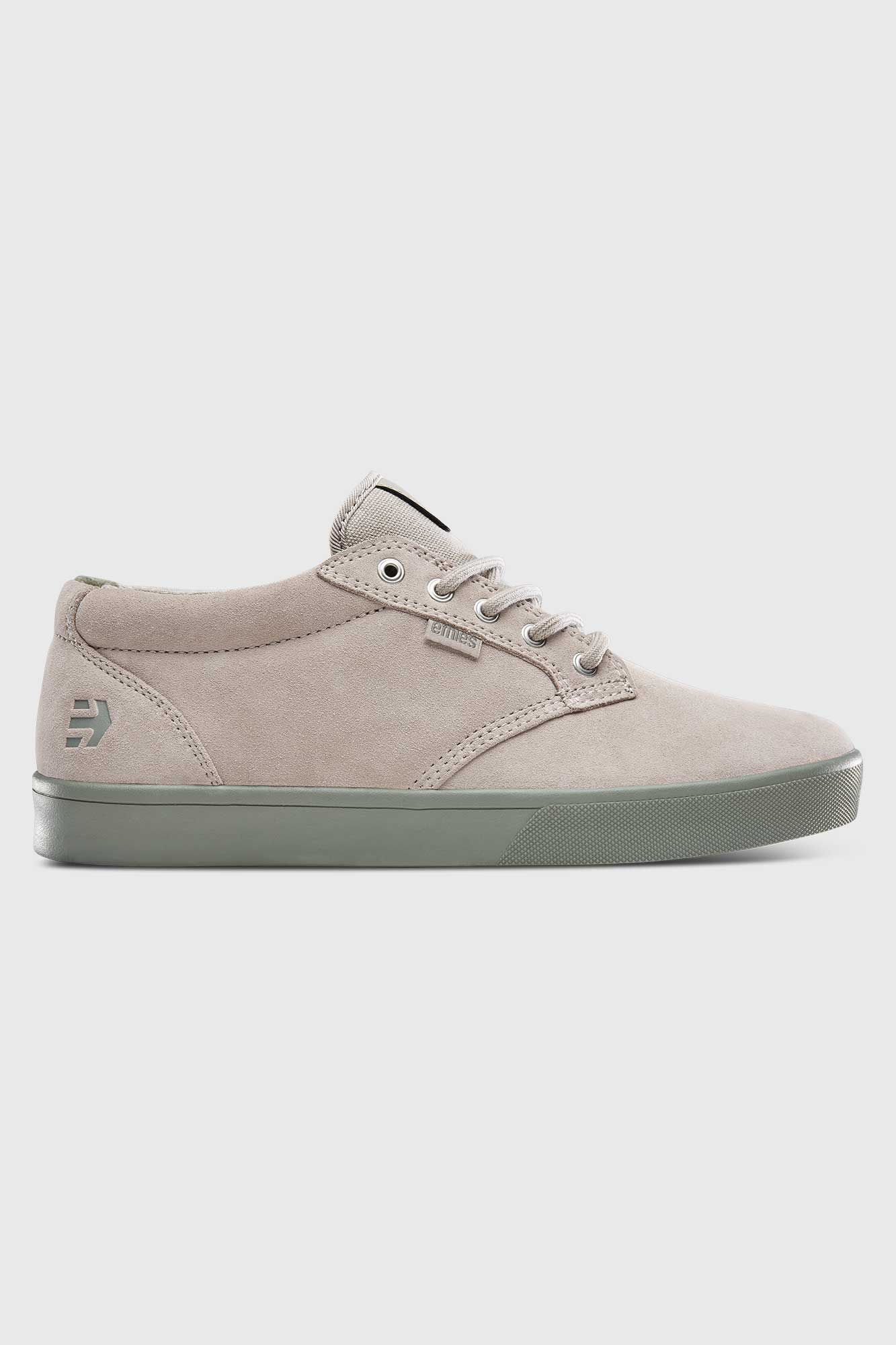 Etnies Jameson Mid Crank Shoes By Brandon Semenuk - Tan/Green
