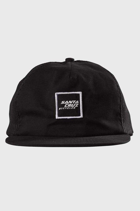 Santa Cruz King Trucker Cap - Black