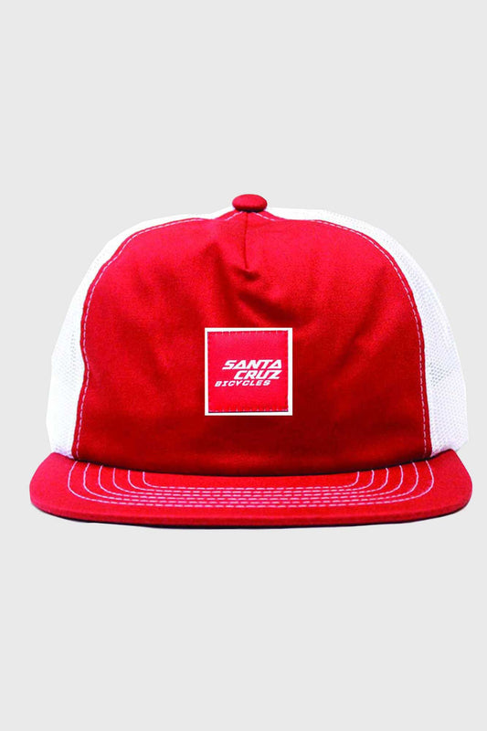 Santa Cruz King Trucker Cap - Red