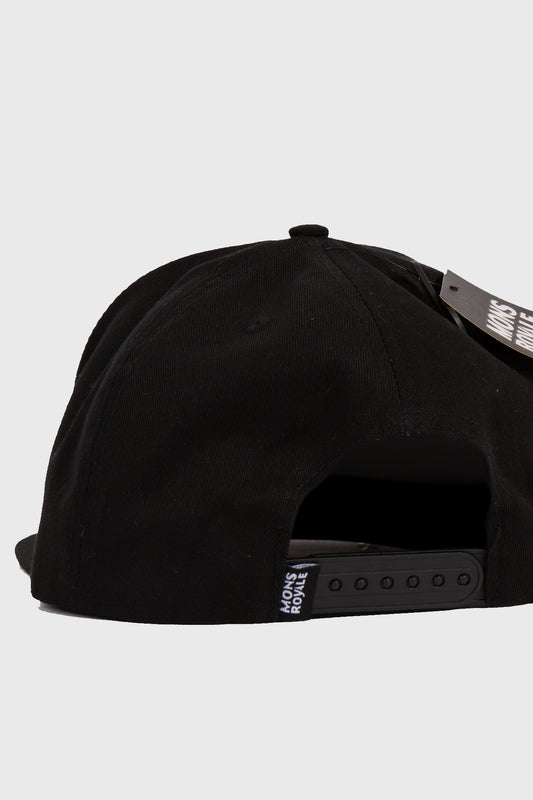 Mons Royale Conner Box Cap Black