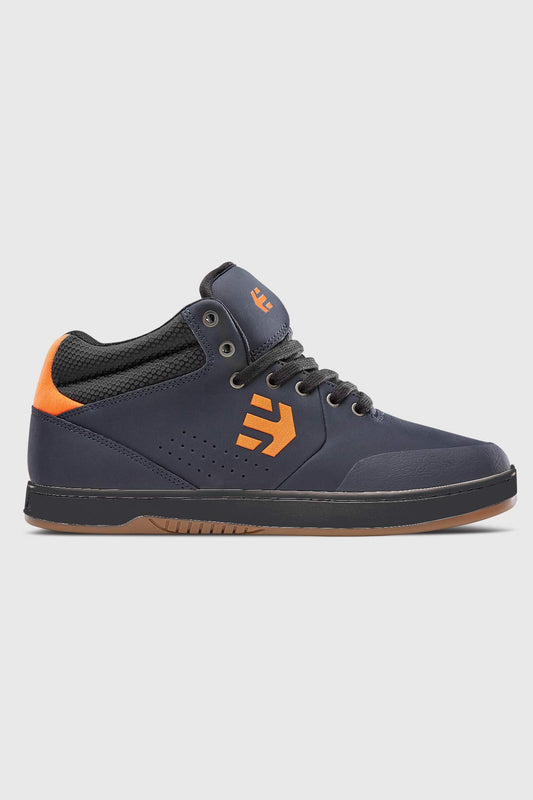 Etnies Marana Mid Crank Shoe - Navy Orange