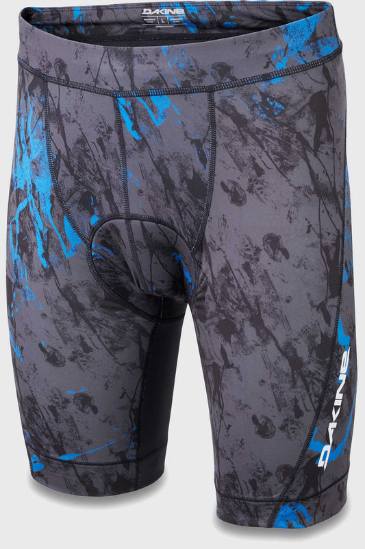 Dakine Mens Comp Padded Liner Short Cyan Scribble