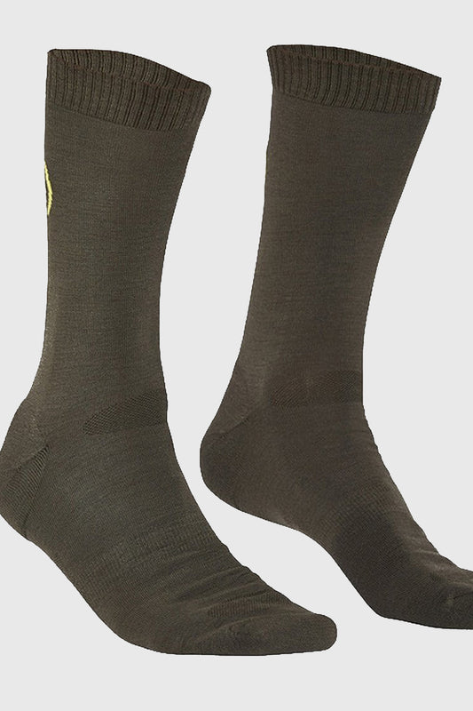 Mons Royale Tech Sock Olive