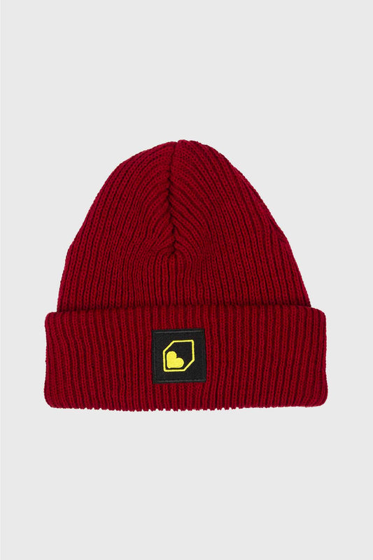Burgtec Moonshiners Cuff Beanie - Maroon