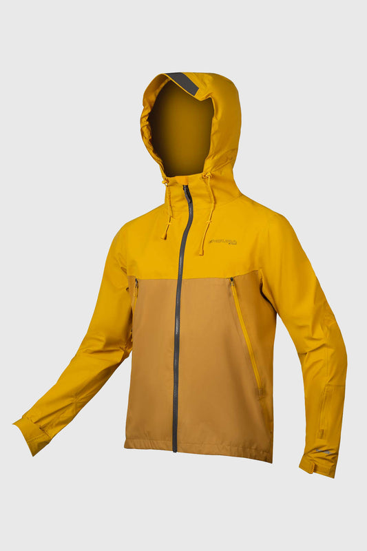 Endura MT500 Waterproof Jacket - Mustard Yellow