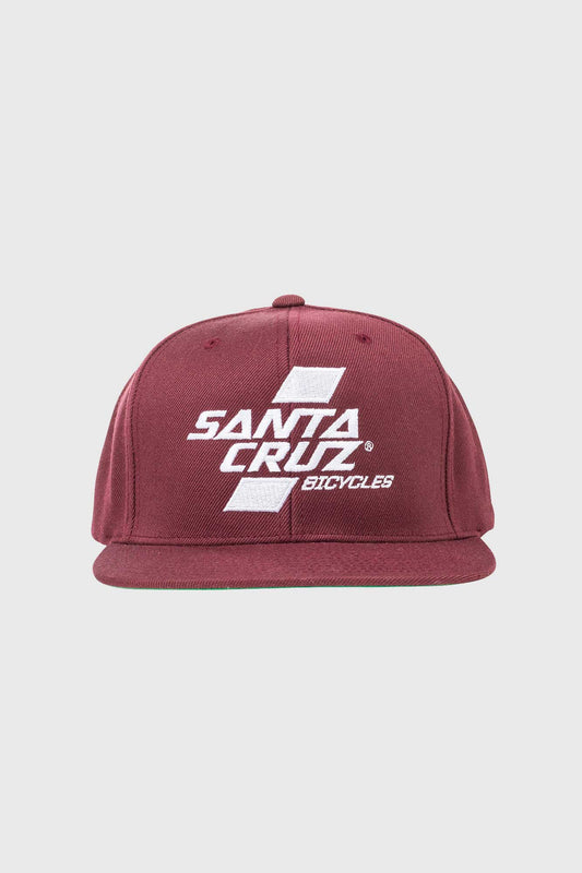 Santa Cruz Parallel Snapback - Burgundy