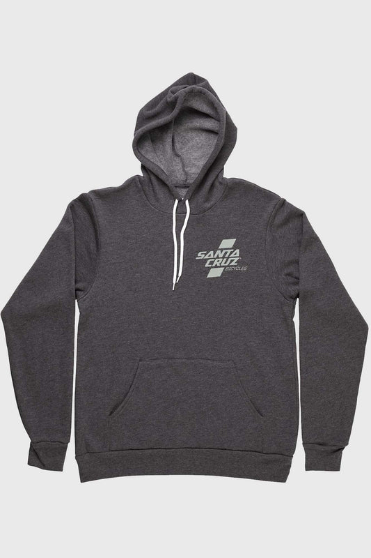 Santa Cruz Parallel Pullover Hoody - Dark Grey/Olive