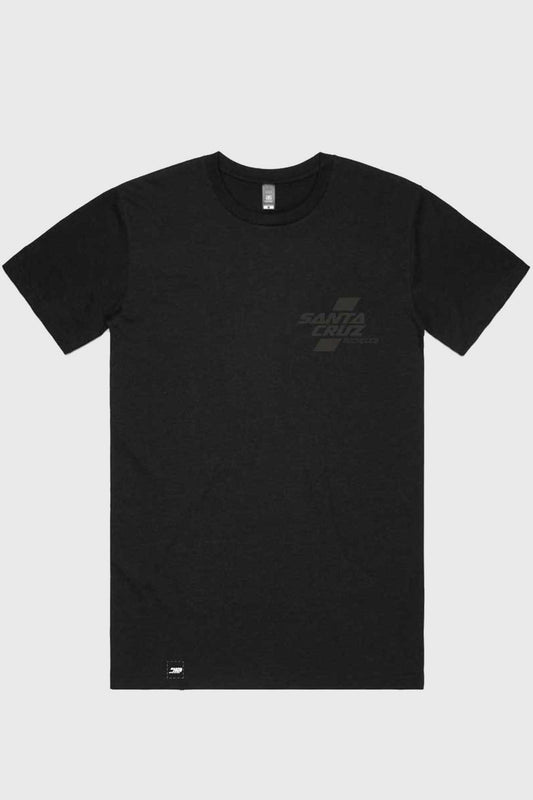 Santa Cruz Parallel Tee - Black