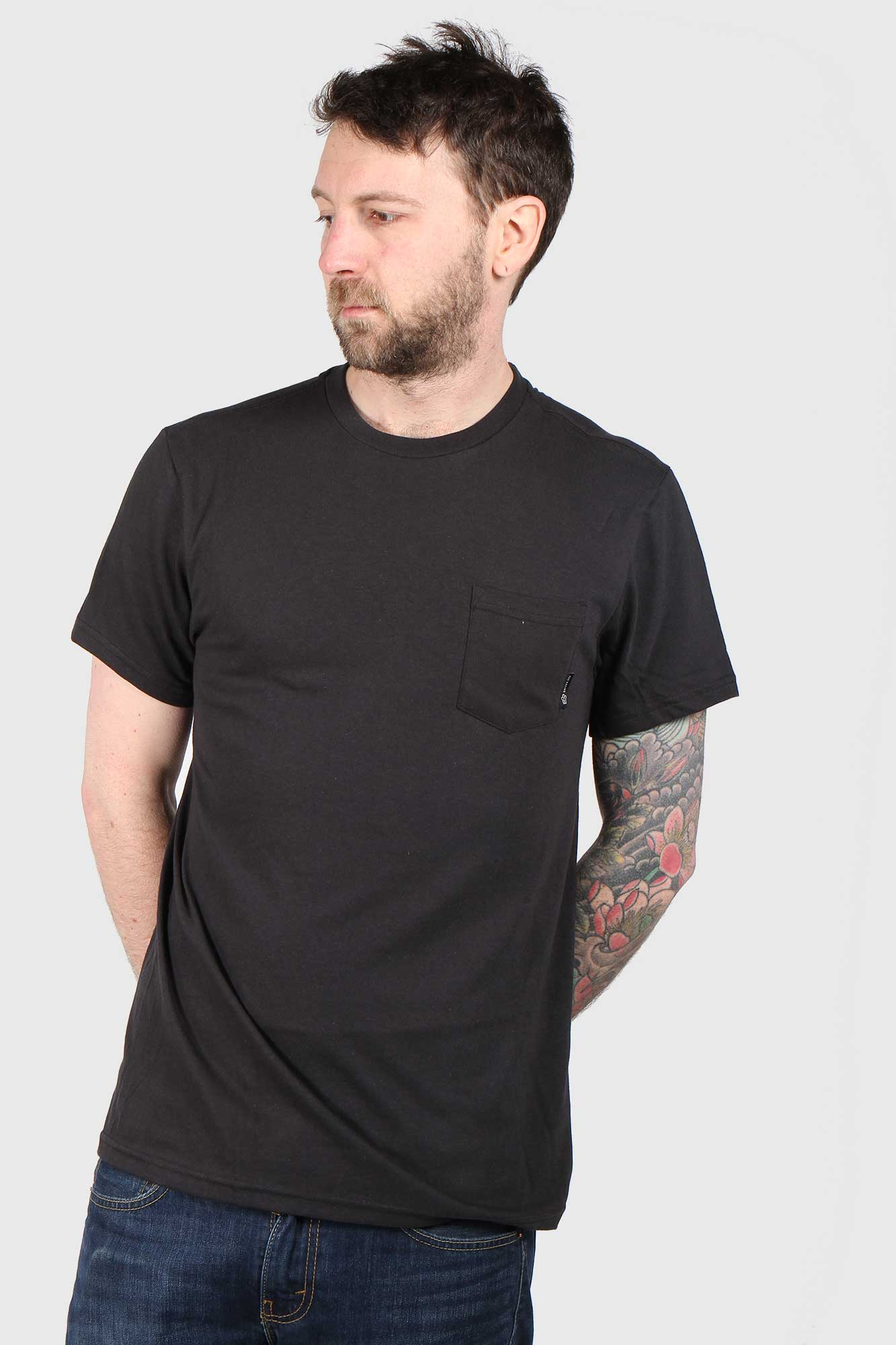 Fox Pit Stop Short Sleeve Pocket T-Shirt - Black