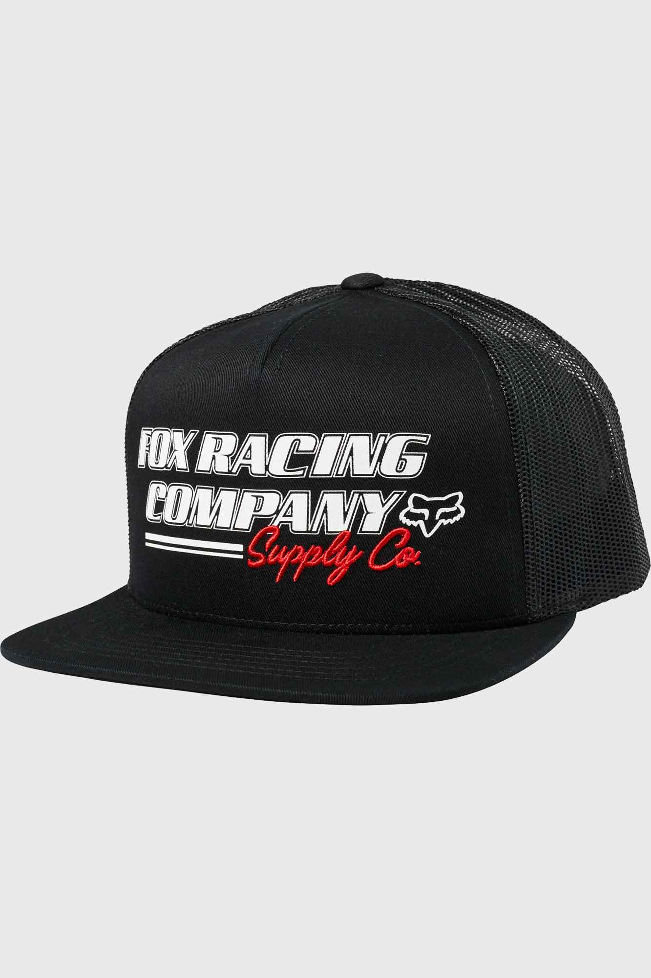 Fox Pitstop Snapback - Black
