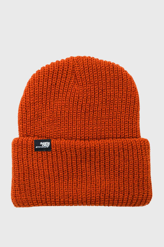 Santa Cruz Port Strike Beanie - Burnt Orange
